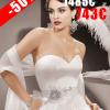 ROBE MARIÉE NICE KS4638-B